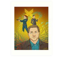 Quantum Break Art Print