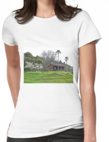 House on the Hill Womens Fitted T-Shirt