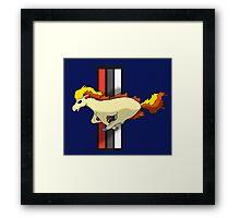 Ponystang Framed Print