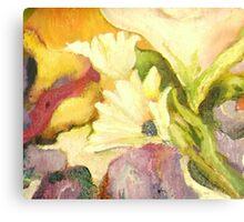 Detail, Garden Gone Wild Canvas Print