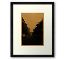 September 22, 1955 Framed Print