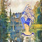 Henin à voiles échafaudés au château de Bazel by Gilberte