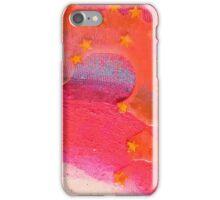 An orange milky sky iPhone Case/Skin