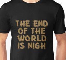 The End of the World is Nigh (Leopard) Unisex T-Shirt