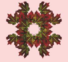 Feeling of Autumn - Maple leaves  Kids Tee