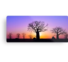 A Kimberley Sunset Metal Print