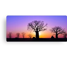 A Kimberley Sunset Canvas Print