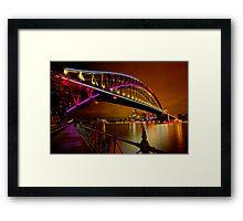 Vivid Sydney Framed Print