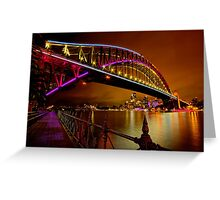 Vivid Sydney Greeting Card
