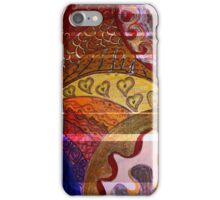 Yellow Hearts - By Ana Canas iPhone Case/Skin