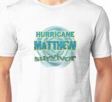 Hurricane Matthew Waves Survivor Unisex T-Shirt
