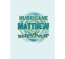 Hurricane Matthew Waves Survivor Photographic Print