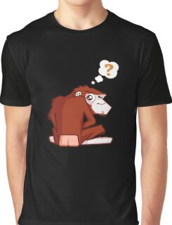 Monkey WTF??? Graphic T-Shirt