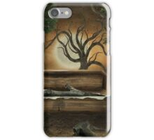 The loss of a friend iPhone Case/Skin