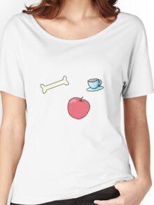 BONE APPLE TEA Women's Relaxed Fit T-Shirt