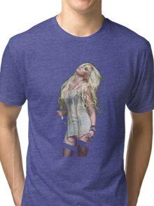 Taylor Momsen-the pretty reckless Tri-blend T-Shirt