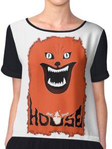House (hausu) - Logo Chiffon Top