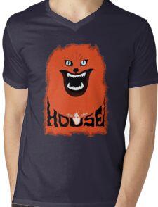 House (hausu) - Logo Mens V-Neck T-Shirt