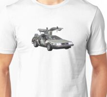 Delorean Back to the Future Unisex T-Shirt