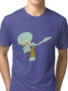 DAB dance squiddy Tri-blend T-Shirt