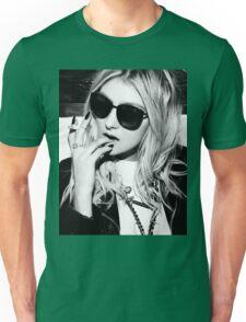 Taylor Momsen Black and White Unisex T-Shirt