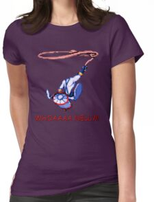Earthworm Jim - WHOA NELLY!! Womens Fitted T-Shirt