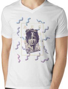 Classic Aesthetic Mens V-Neck T-Shirt
