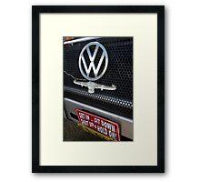 Get in............................! Framed Print
