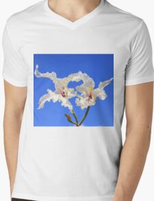 Coffee Bush Purity - Wild Flowers from Africa - Delicate Beauty Mens V-Neck T-Shirt