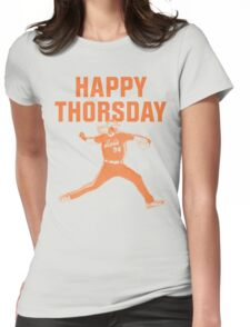 Happy Thorsday Womens Fitted T-Shirt