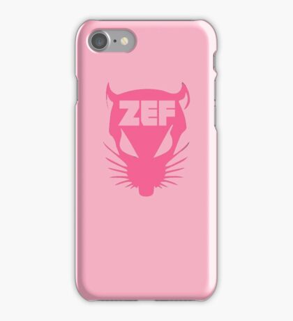 ZEF RAT on Fire Design iPhone Case/Skin