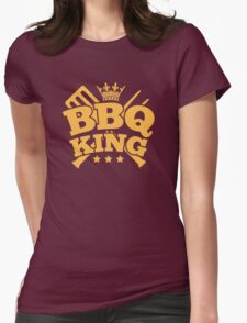 BBQ KING Womens Fitted T-Shirt