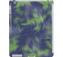 Fur Blue&Green  iPad Case/Skin