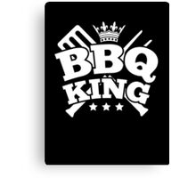 BBQ KING Canvas Print