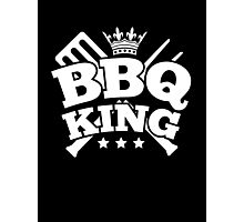BBQ KING Photographic Print