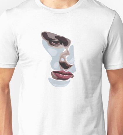Simplistic face  Unisex T-Shirt