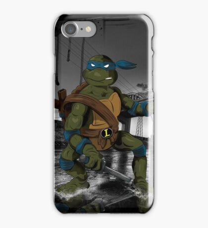 MrWetpaint x Turtles - Leo iPhone Case/Skin