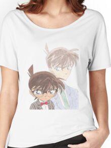 Detective Conan and Shinichi Kudo Women's Relaxed Fit T-Shirt