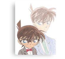 Detective Conan and Shinichi Kudo Canvas Print