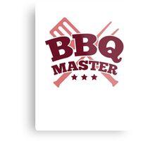 BBQ MASTER Metal Print