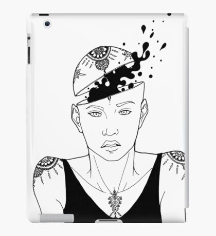 Ink Head iPad Case/Skin