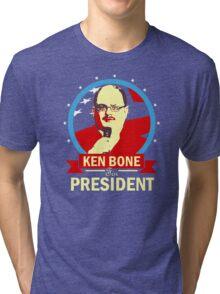 Ken Bone for President Tri-blend T-Shirt