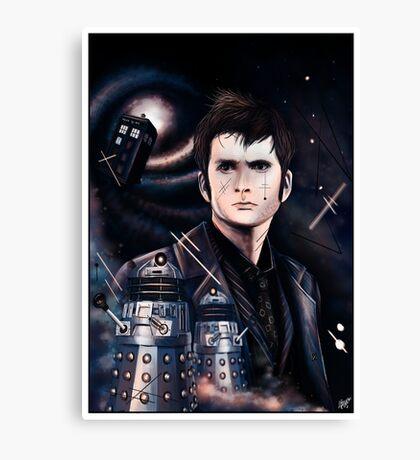 David Tennant as Doctor Who Canvas Print