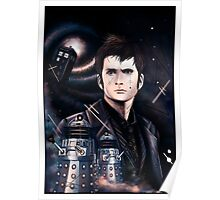 David Tennant as Doctor Who Poster