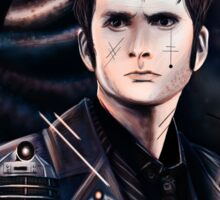 David Tennant as Doctor Who Sticker