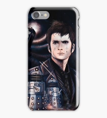 David Tennant as Doctor Who iPhone Case/Skin