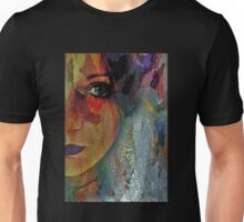 The Other Left Abstract Portrait T-Shirt