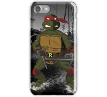 MrWetpaint x Turtles - Raph iPhone Case/Skin