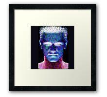 Martian boy Framed Print