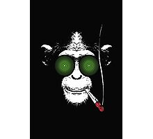 Psycho Chimp Photographic Print